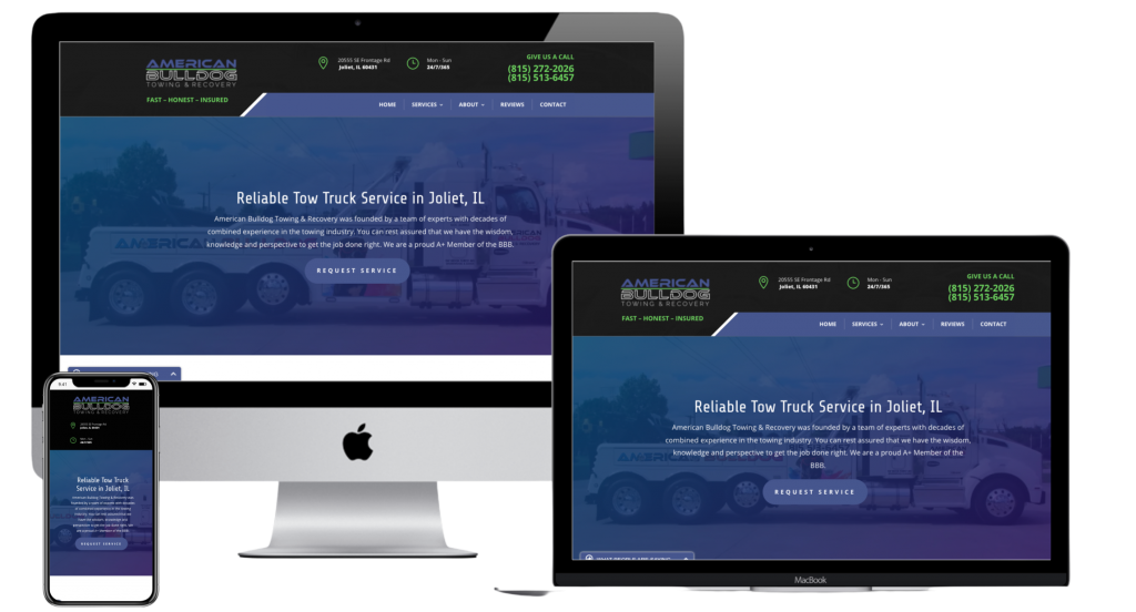 tow business website company